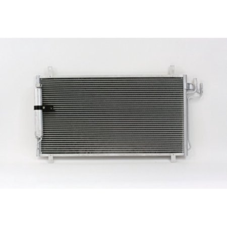A-C Condenser - Pacific Best Inc For/Fit 4704 03-07 Infiniti G35 Coupe 03-06 G35 Sedan w/Receiver &