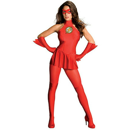 The Flash Adult Halloween Costume - Rock Candy Halloween Flash