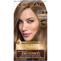 L'Oreal Paris Superior Preference Fade-Defying Color & Shine System Light Beige Brown Cooler 6Bb Hair Color, 1 Kt