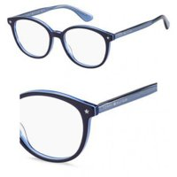 777eb1f4bfb Product Image Eyeglasses Tommy Hilfiger Th 1552 0ZX9 Blue Azure