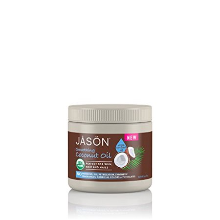 Jason Organic Coconut Oil - Perfect for Skin Hair & Nails - 15 oz. By (Jason Perfect Solutions)