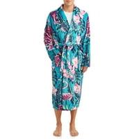 Top Drawer Men's Novelty Plush Robe