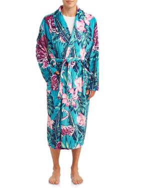 Top Drawer Men's Novelty Plush Robe