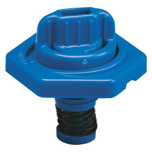 TRICO 24013 Breather Vent,HDPE,1.50 in. H,Blue G0379620