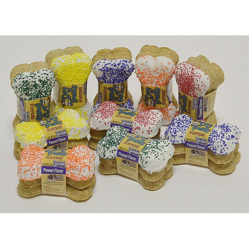Foppers 3'' Bones Coated with Everyday Sprinkles Dog Treat Gift Set (3-Pack, Set of 10)