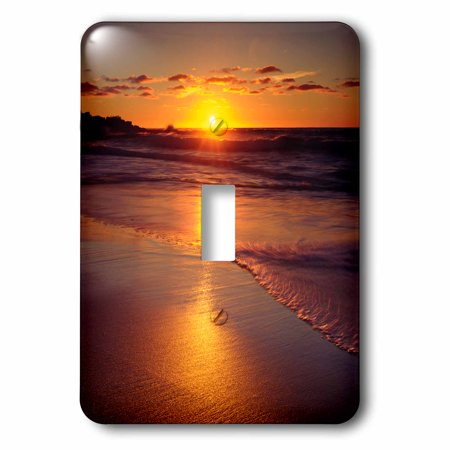 3dRose USA, California, San Diego, A Beach in La Jolla at Sunset., 2 Plug Outlet Cover ()