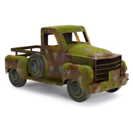 - Melrose International Pickup Truck Sculpture