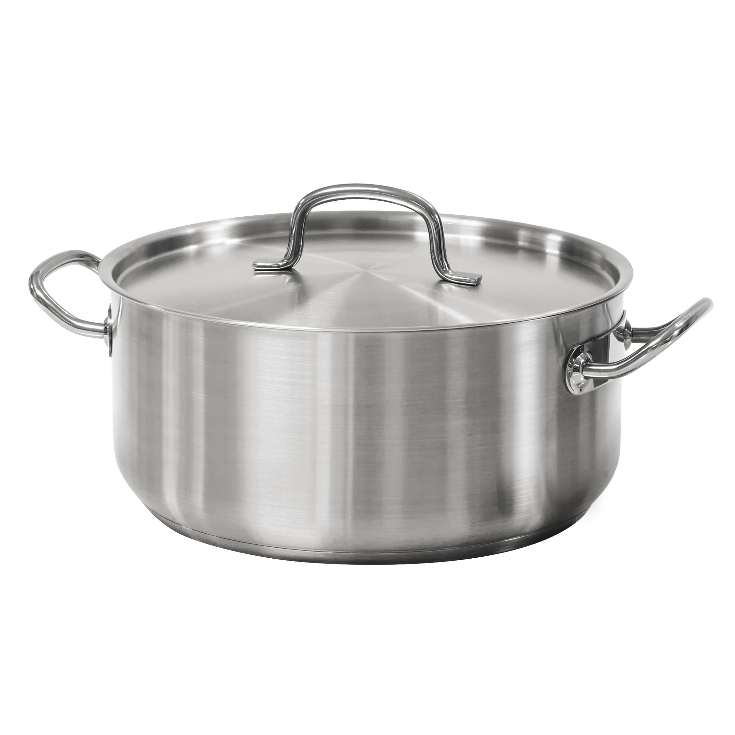 Tramontina Pro-Line 9 Qt. Stainless Steel Dutch Oven & Lid by Tramontina