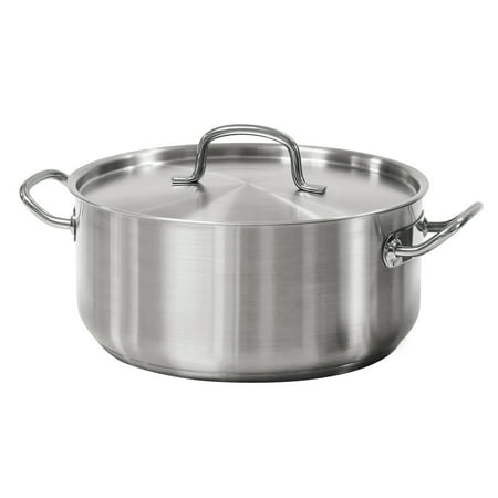 Tramontina Pro-Line 9 Qt. Stainless Steel Dutch Oven &