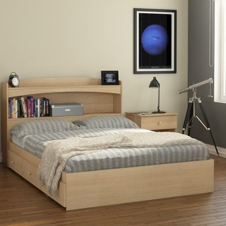 Red Barrel Studio Brook Hollow Full Double Storage Platform Bed