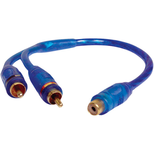 db Link Cl3z Double Shielded Competition Series 3' RCA Adapter
