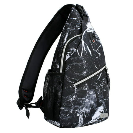 Mosiso Polyester Sling Chest Backpack for Men Women Shoulder Bags Crossbody Outdoor Sport Bag