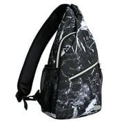 Mosiso Polyester Sling Chest Backpack for Men Women Shoulder Bags Crossbody Outdoor Sport Bag