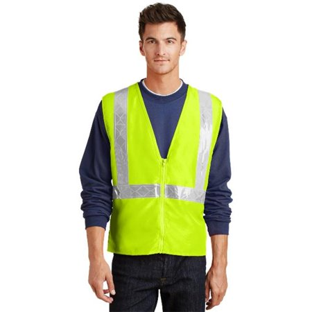 Port Authority® Enhanced Visibility Vest.  Sv01 Safety Yellow/ Reflective 2/3X - image 1 of 1