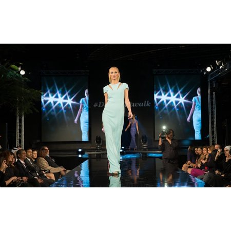 Canvas Print Fashion Fashion Show Style Model Female Catwalk Stretched Canvas 10 x 14