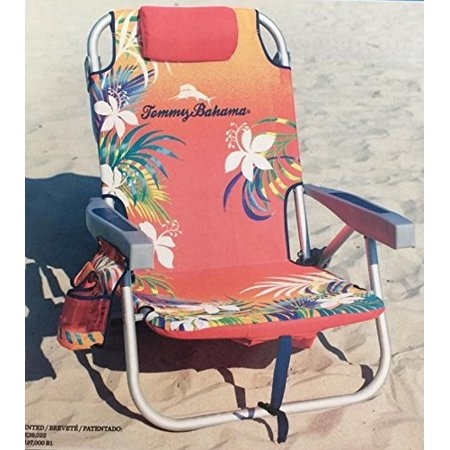 Tommy Bahama Backpack Beach Chair Red Walmart Com