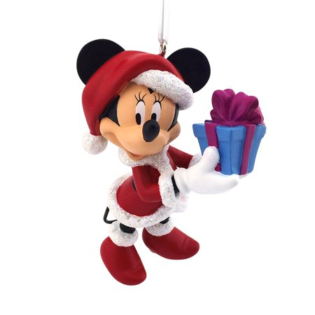 hallmark disney minnie mouse as mrs claus christmas ornament
