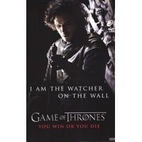 Game of Thrones - Jon Snow - Watcher on the Wall Laminated Poster (24 x 36)
