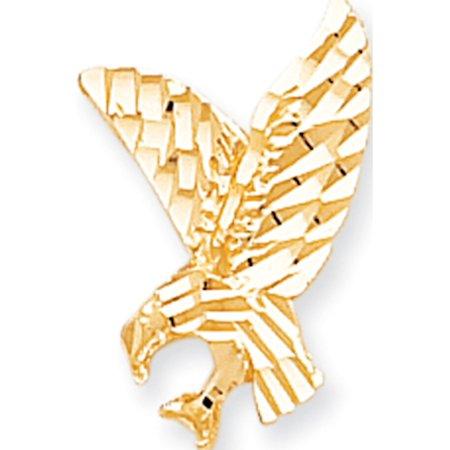 Leslies Fine Jewelry Designer 10k Yellow Gold EAGLE CHARM (11x20mm) Pendant Gift