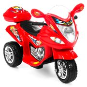 Best Choice Products Kids Ride On Motorcycle 6V Toy Battery Powered Electric 3 Wheel Power Bicycle Red by