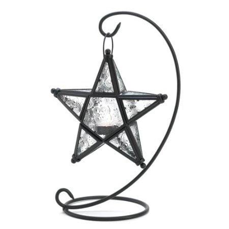 - Gifts  Decor Tabletop Starlight Standing Candleholder Lantern Lamp
