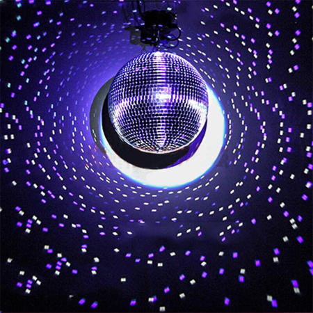 Efavormart Groovy Glass Mirror Disco Ball Party Decoration for Wedding Event Birthday Party Decoration - Glass Block Decoration