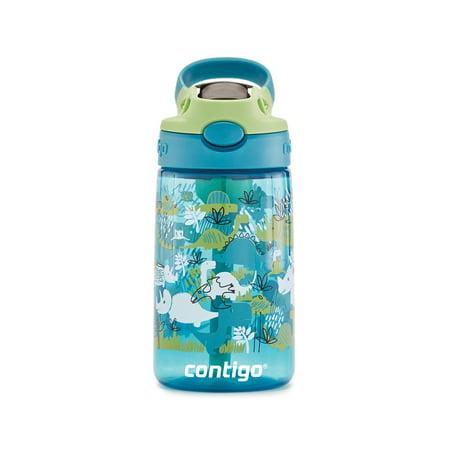Contigo Kids AUTOSPOUT Straw Water Bottle with Easy-Clean Lid, 14 oz. (Kids Water Bottles)