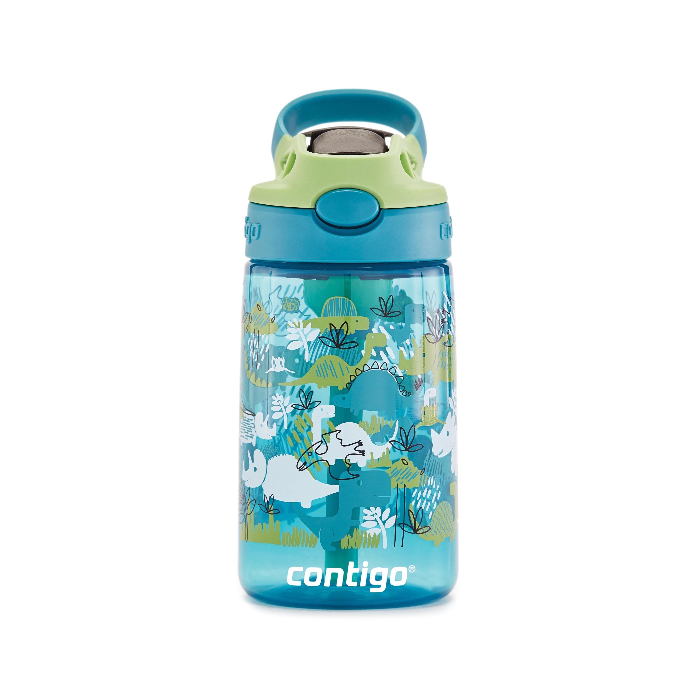 Contigo Kids AUTOSPOUT Straw Water Bottle with Easy-Clean Lid, 14 oz.