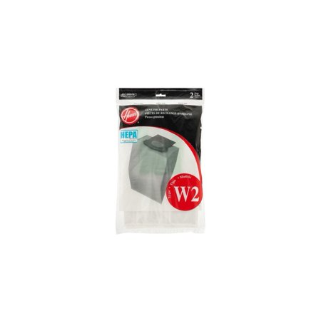 Hoover Type W2 HEPA Bag (2-Pack), 401080W2