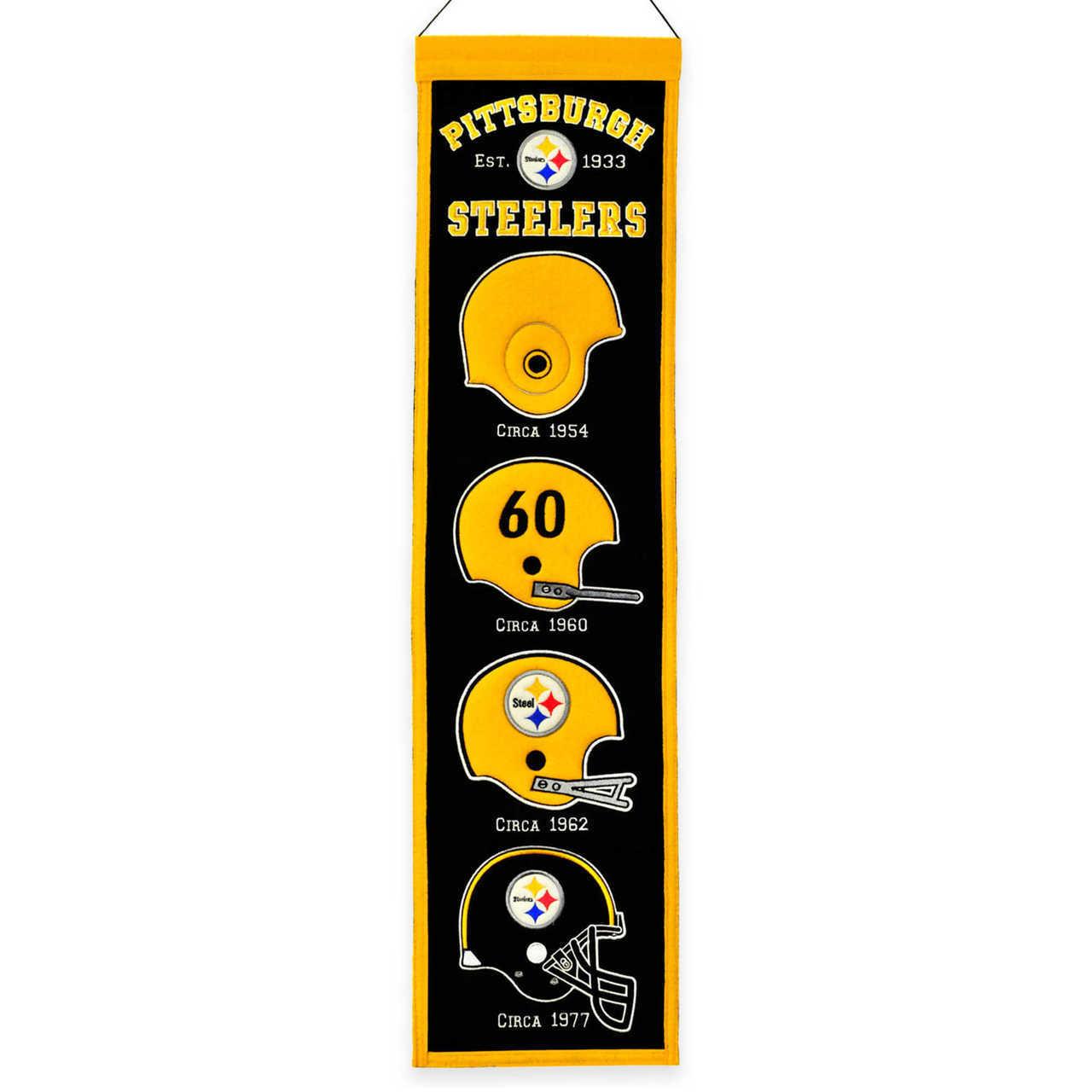Pittsburgh Steeler Heritage Banner