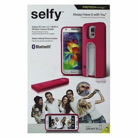 - iLuv Selfy Case w/ Wireless Camera Shutter for Samsung Galaxy S5 - Pink (Refurbished)