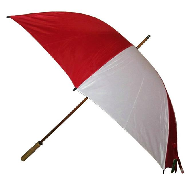 Conch Umbrellas Jumbo Golf Umbrella With Wood Shaft