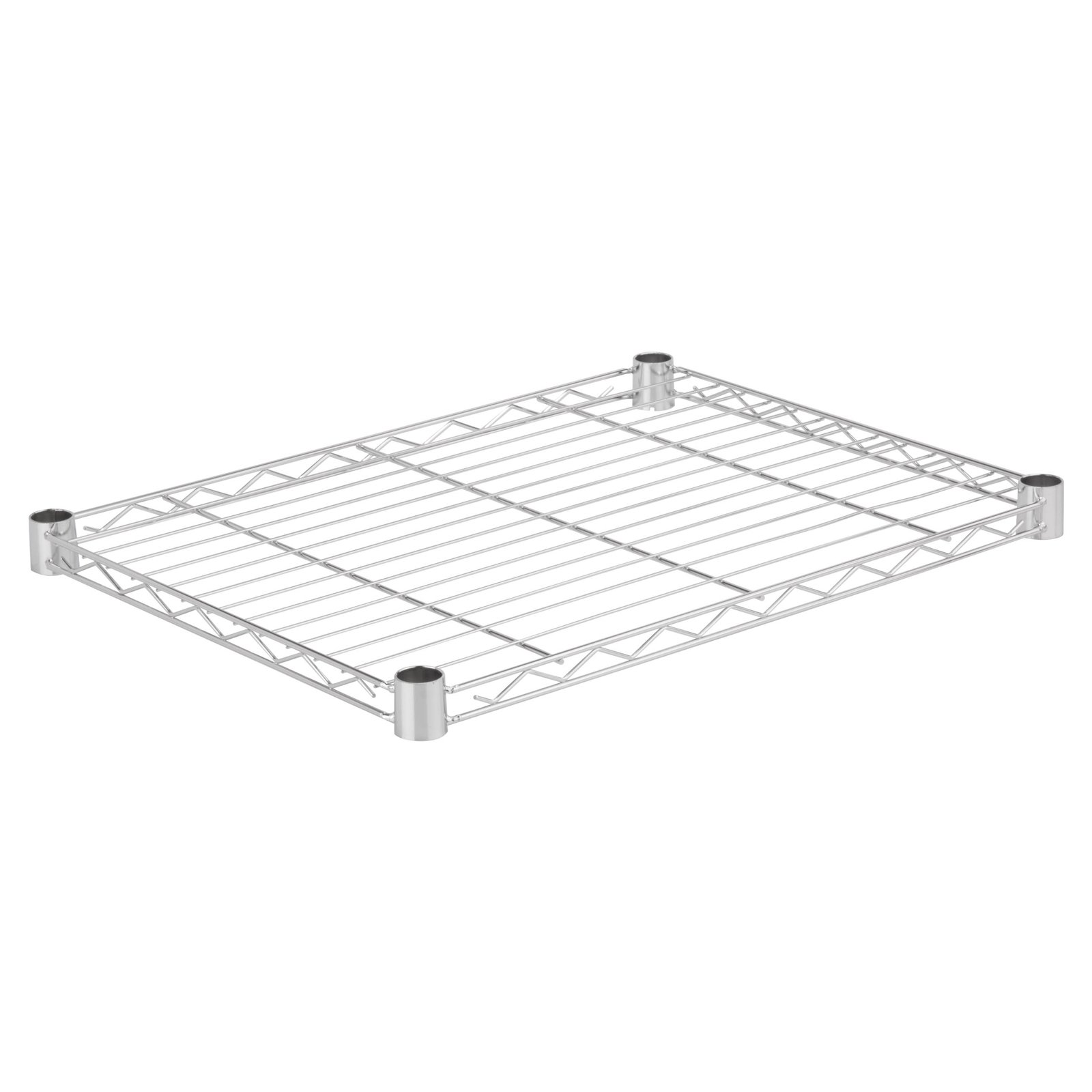 "Honey Can Do Steel Wire Shelf, 350 Lbs, 14"" x 24"", Chrome"