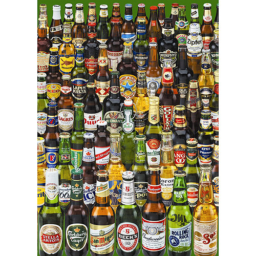 Educa Borras Beers Puzzle, 1000 Pieces