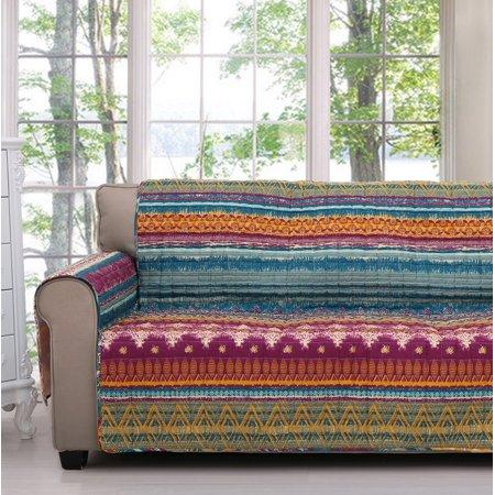 Global Trends Santa Fe Sofa Cover Slipcover Protector Painted Desert ()