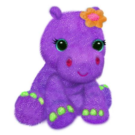 Purple Hippo (First and Main - FantaZOO 10 Inch Plush, Haley Hippo )
