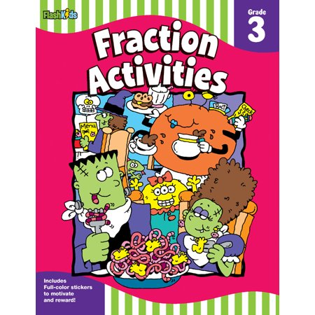 Grade 3 Halloween Art Activities (Fraction Activities: Grade 3 (Flash)