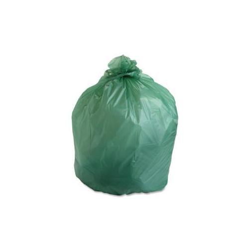 STOUT Compostable Trash Bags,32Gal,.85ml,33x48,50/BX,Green