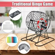 Bingo Lotto Lottery Numbs Picking Lucky Machine Family Party Cards Games Indoor Game Set Gifts Family Fun Time