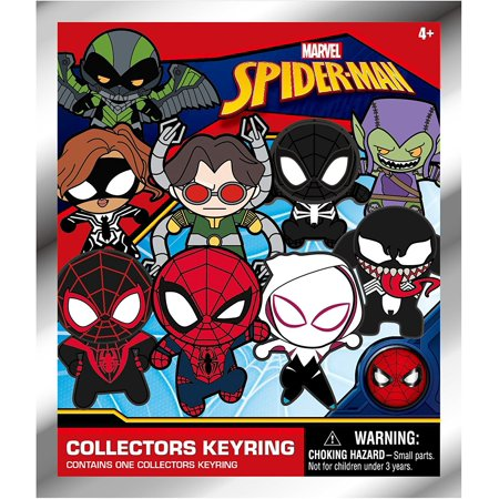 The Amazing Bag Man (Marvel Spider-Man Blind Bag Foam Figure Keyring, One)