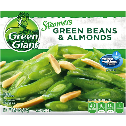 Green Giant Green Beans & Almonds Simply Steam No Sauce, 7.5 Oz