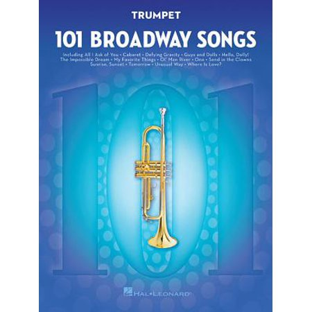 101 Broadway Songs for Trumpet (Other)