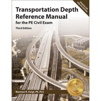 Transportation Depth Reference Manual for the Pe Civil Exam (Paperback)