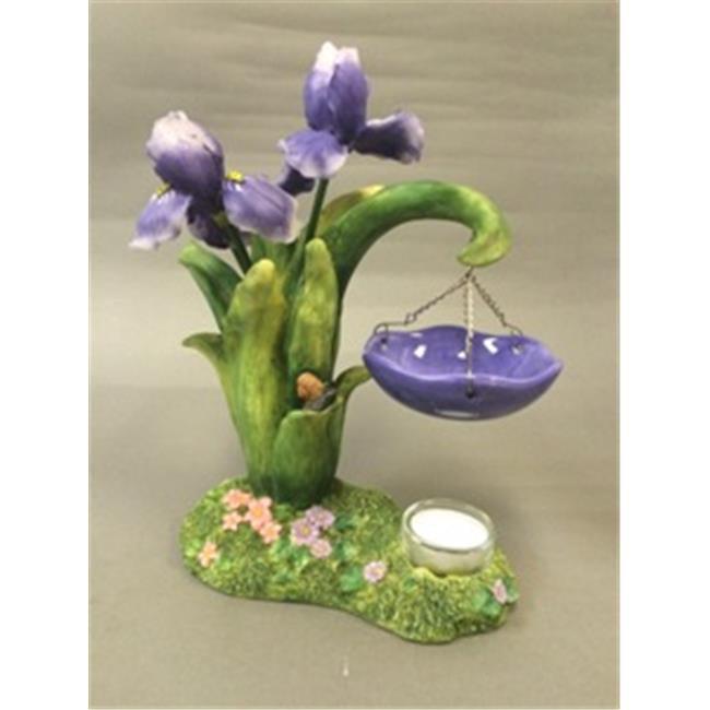 Biedermann & Sons JWH26 Iris Hobnail Pedestal Marex Designed Quality Resign Candle