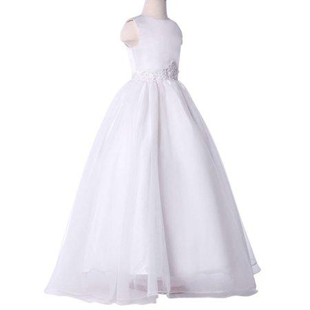 Grace Karin Sleeveless Flower Girl   Princess   Bridesmaid   Wedding   Pageant   Party Dress
