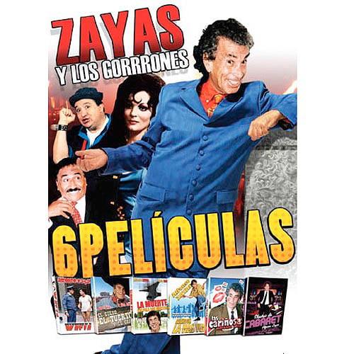 Zayas Y Los Gorrones (8 Peliculas) (Spanish)
