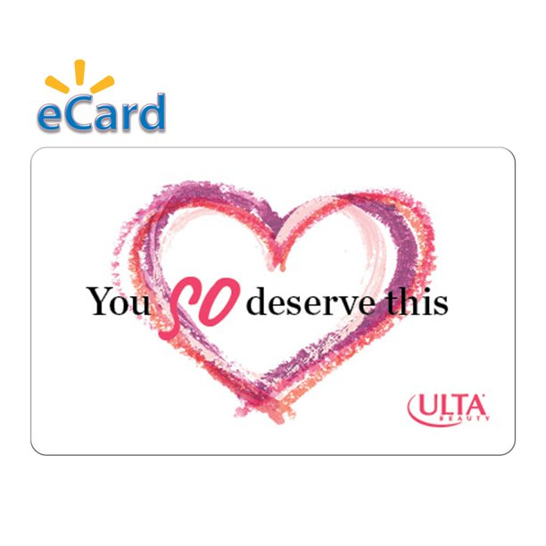 ulta 50 thank you gift card email delivery  walmart
