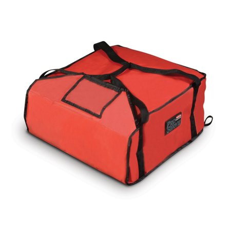 Rubbermaid FG9F3600RED PROSERVE Medium Red Pizza Delivery Bag ()