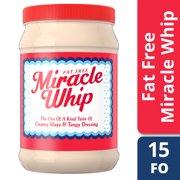 Miracle Whip Fat-Free Dressing 15 fl oz Jar