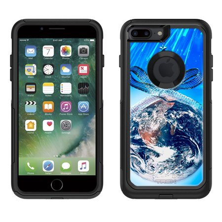 otterbox commuter apple iphone 7 plus case christmas earth ornament apple iphone 7 plus otterbox